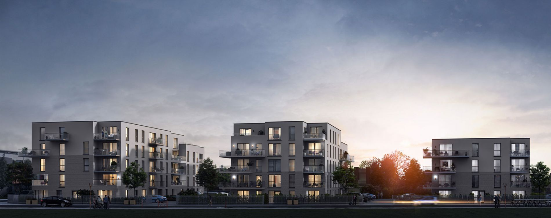 Mons-en-Barœul : programme immobilier neuve « Axiome » en Loi Pinel (2)