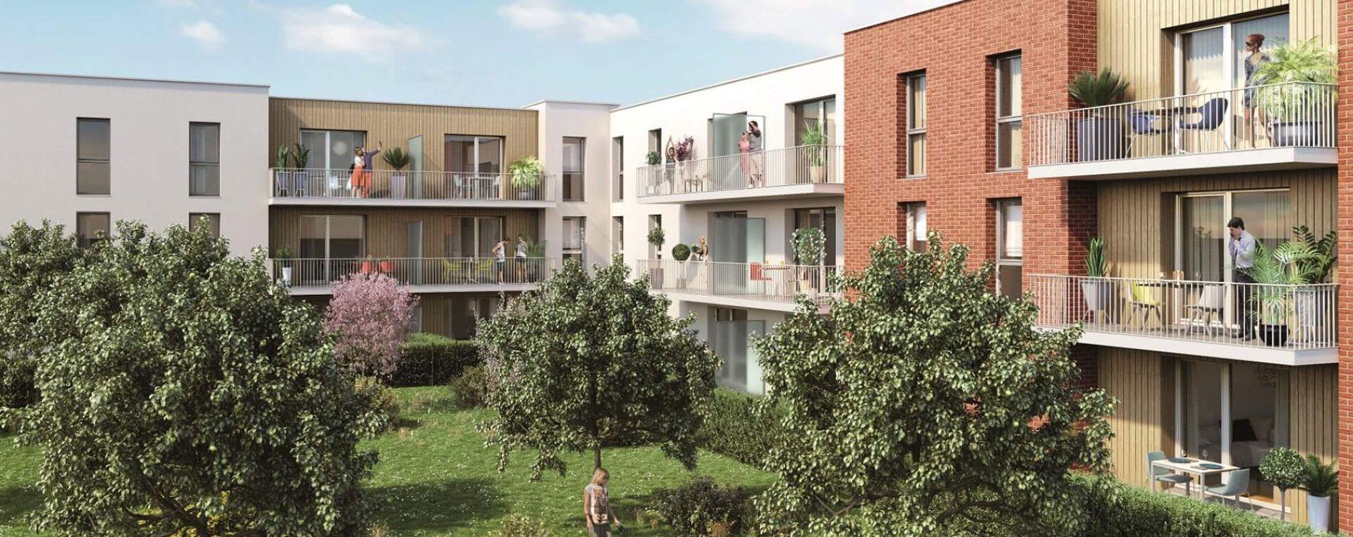 Nieppe : programme immobilier neuve « Le Carré Fruit »