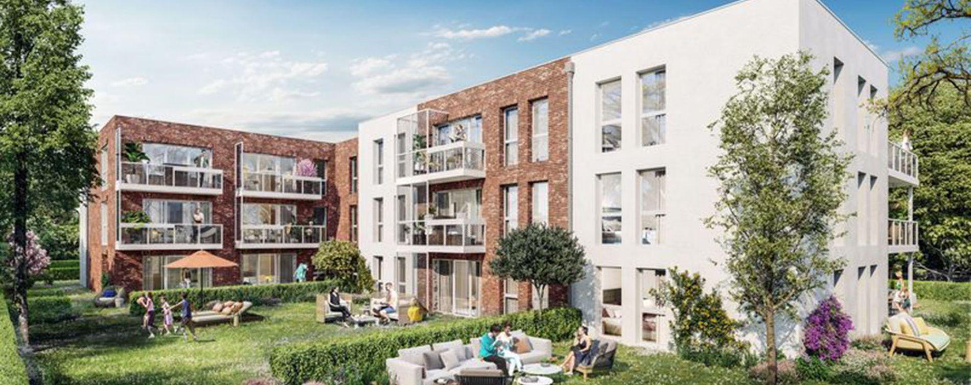 Nieppe : programme immobilier neuve « Le Clos du Chêne » en Loi Pinel
