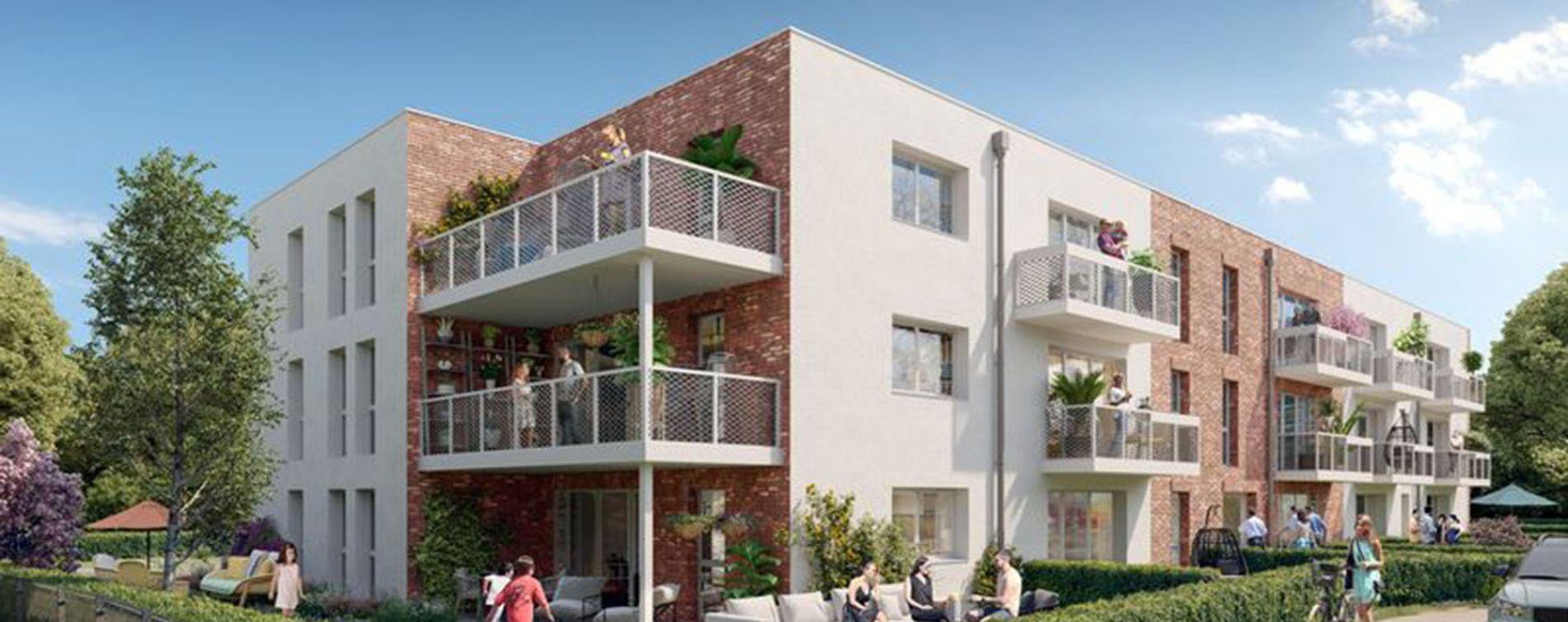 Nieppe : programme immobilier neuve « Le Clos du Chêne » en Loi Pinel (2)