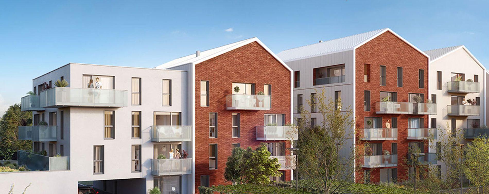 Pérenchies : programme immobilier neuve « Linéo » (2)