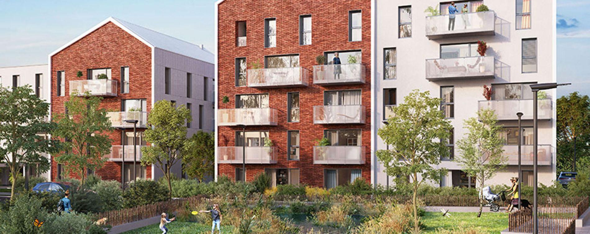 Pérenchies : programme immobilier neuve « Linéo » (3)