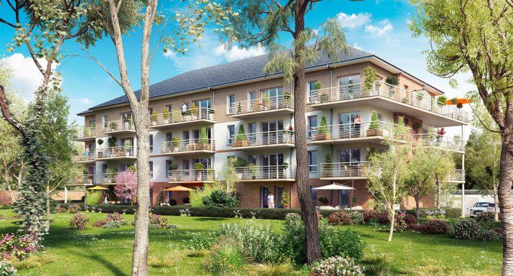 Photo du Résidence « Le Trianon » programme immobilier neuf à Provin