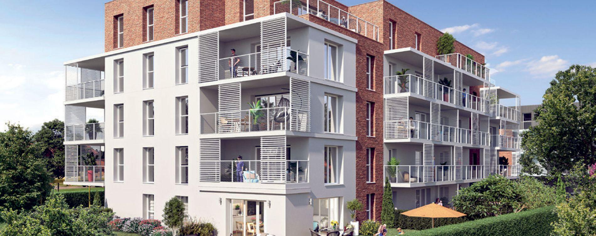 Quesnoy-sur-Deûle : programme immobilier neuve « Côté Rive » en Loi Pinel