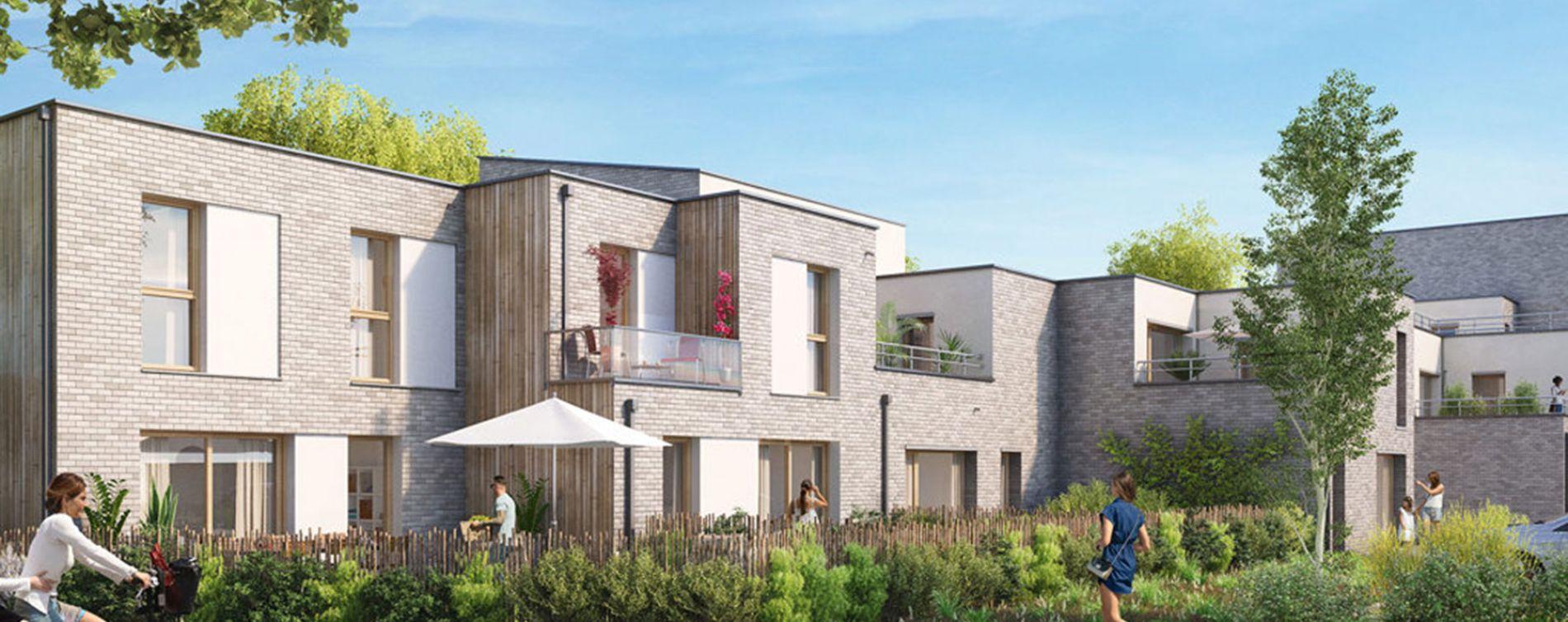 Quesnoy-sur-Deûle : programme immobilier neuve « Rive & Sens » en Loi Pinel (2)