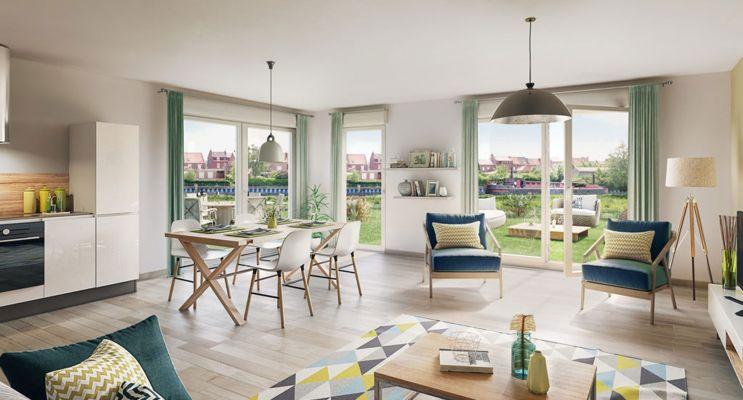 Photo du Résidence « Rive & Sens » programme immobilier neuf en Loi Pinel à Quesnoy-sur-Deûle