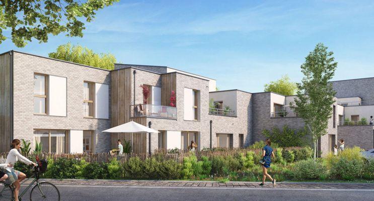Résidence « Rive & Sens » programme immobilier neuf en Loi Pinel à Quesnoy-sur-Deûle n°2