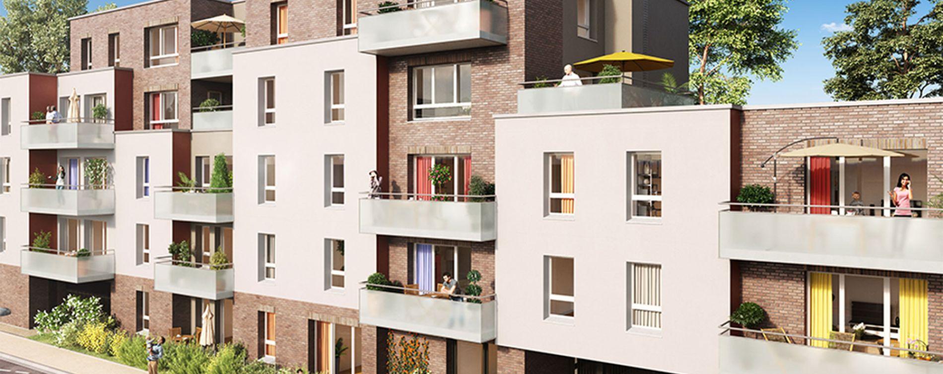 Ronchin : programme immobilier neuve « In Villam »