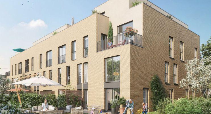 Roncq programme immobilier neuf « Factory » en Loi Pinel