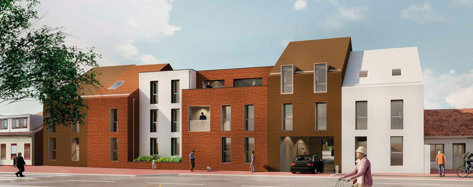 Roncq : programme immobilier neuve « Le 551 » en Loi Pinel
