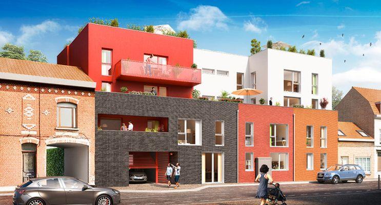 Photo du Résidence « Le XII » programme immobilier neuf en Loi Pinel à Roncq