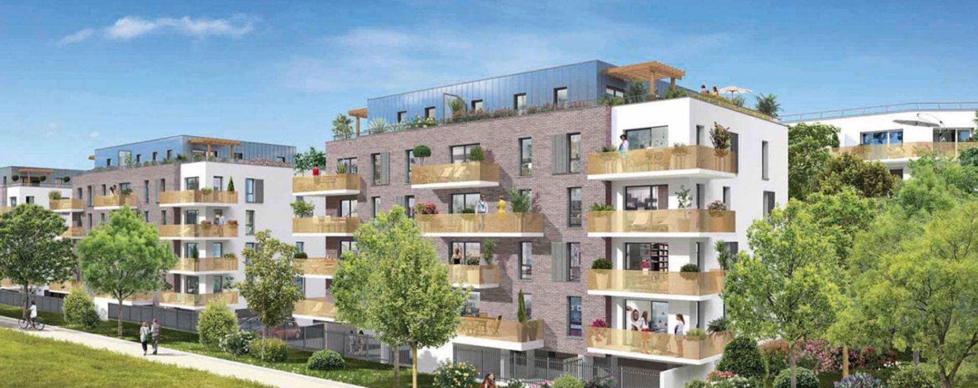 Roncq : programme immobilier neuve « Les Terrasses d'Organdi »