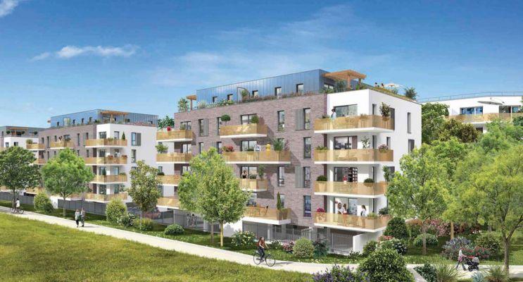 Photo du Résidence « Les Terrasses d'Organdi » programme immobilier neuf en Loi Pinel à Roncq