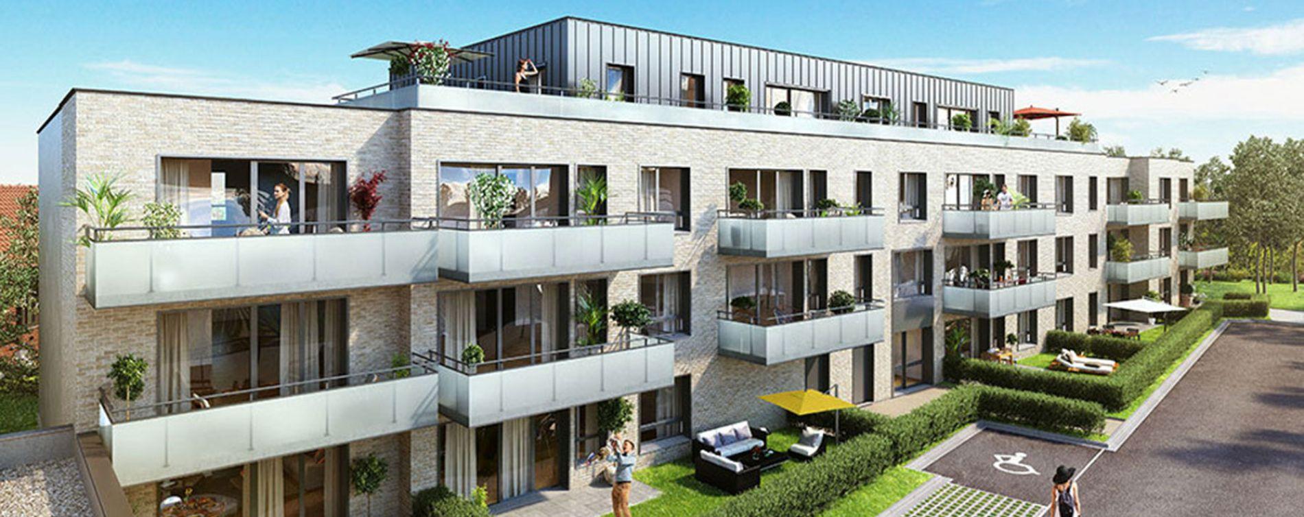 Roncq : programme immobilier neuve « Natur' & Sens »