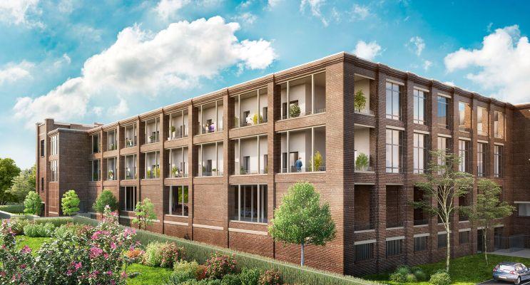 Résidence « Imag'In » programme immobilier à rénover en Loi Pinel ancien à Roubaix n°1