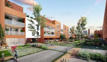 Roubaix programme immobilier neuf « L'Îlot Vert » en Loi Pinel