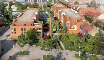 Roubaix programme immobilier neuve « L'Îlot Vert » en Loi Pinel  (2)