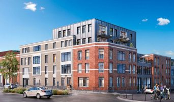 Résidence « Ô Barbieux » programme immobilier neuf en Loi Pinel à Roubaix n°1