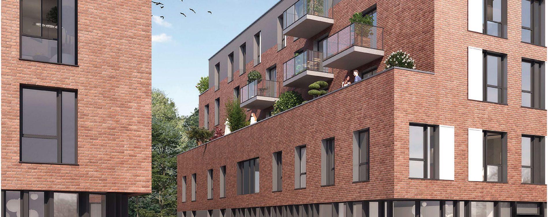 Roubaix : programme immobilier neuve « Parc Vauban » en Loi Pinel (2)
