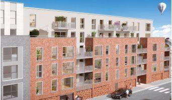 Photo du Résidence « Pixel 2 » programme immobilier neuf en Loi Pinel à Roubaix