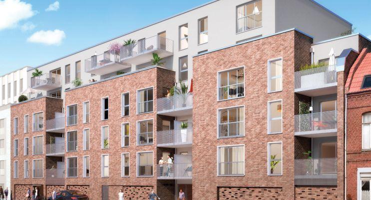 Photo du Résidence « Pixel » programme immobilier neuf en Loi Pinel à Roubaix