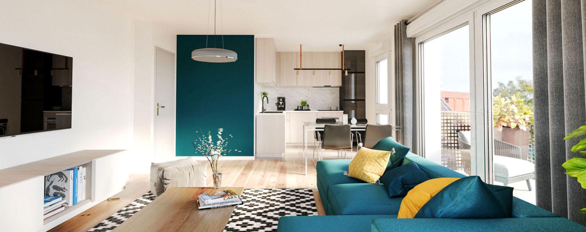 Roubaix : programme immobilier neuve « Smart'Up » en Loi Pinel (2)