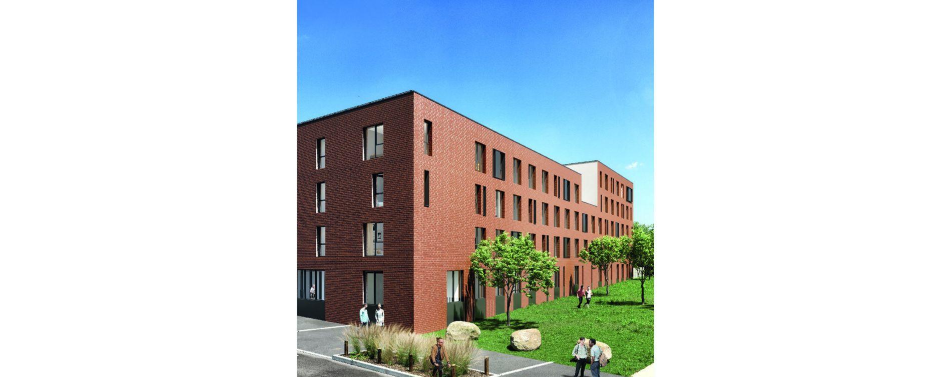 Roubaix : programme immobilier neuve « Stud'Campus »