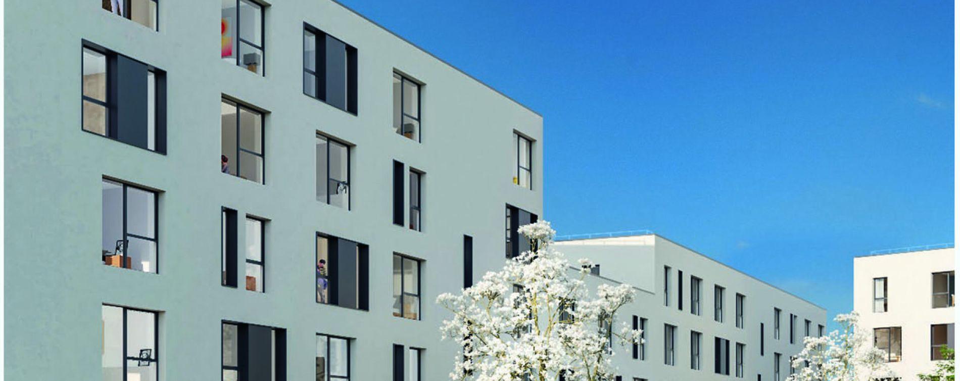 Roubaix : programme immobilier neuve « Stud'Campus » (2)