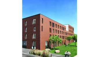 Roubaix : programme immobilier neuf « Stud'Campus »