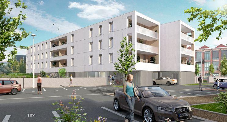 Photo du Résidence « Villa Blanche » programme immobilier neuf en Loi Pinel à Roubaix