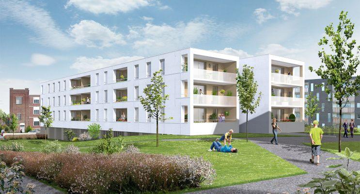 Photo n°2 du Résidence « Villa Blanche » programme immobilier neuf en Loi Pinel à Roubaix