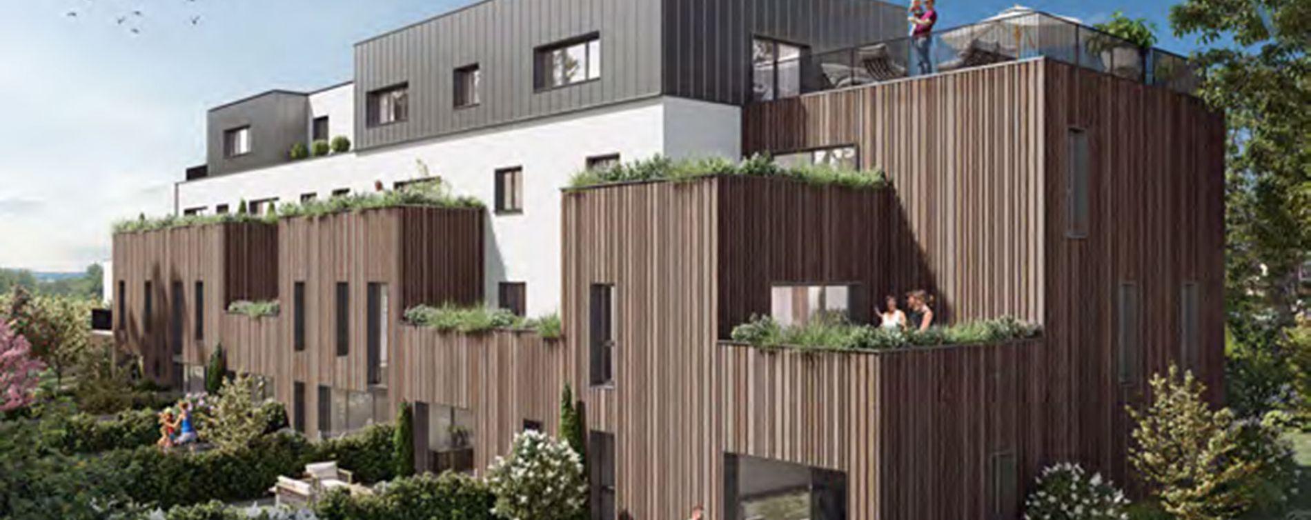 Sainghin-en-Weppes : programme immobilier neuve « Naturessence » (2)
