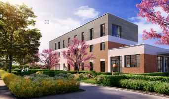 Saint-André-lez-Lille programme immobilier neuve « Le Domaine d'Hestia - Villa Artémis »  (2)