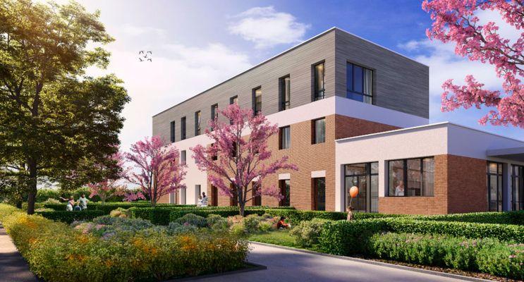 Saint-André-lez-Lille : programme immobilier neuf « Le Domaine d'Hestia - Villa Déméter » en Loi Pinel