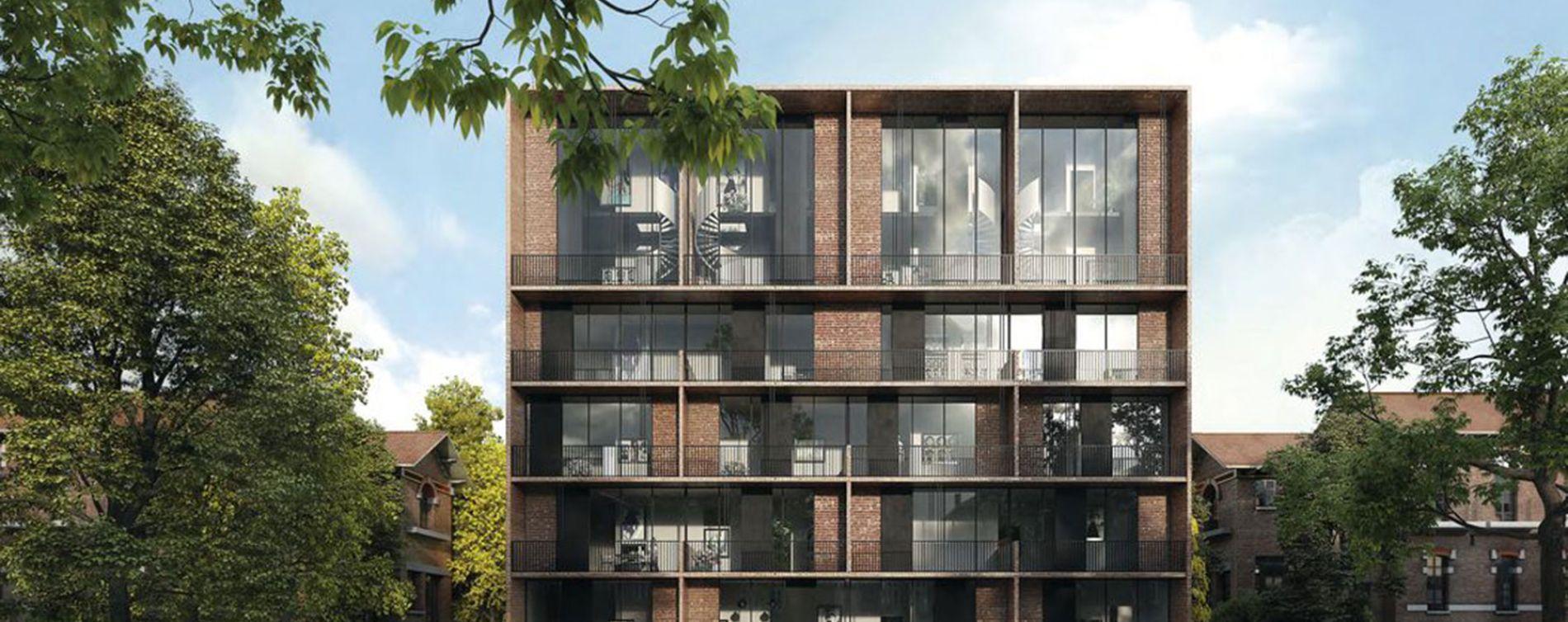 Saint-André-lez-Lille : programme immobilier neuve « Le Domaine d'Hestia - Villa Rhéa » en Loi Pinel