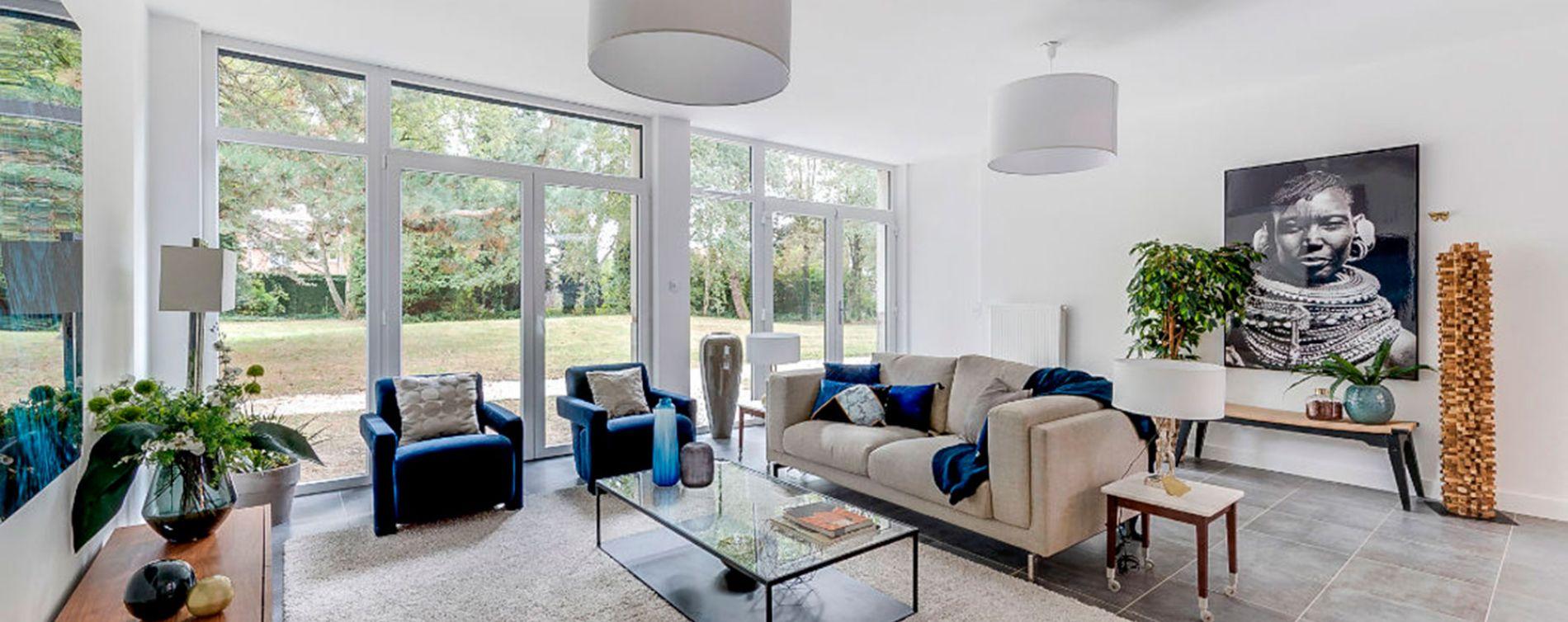 Saint-André-lez-Lille : programme immobilier neuve « Le Domaine d'Hestia - Villa Rhéa » en Loi Pinel (4)