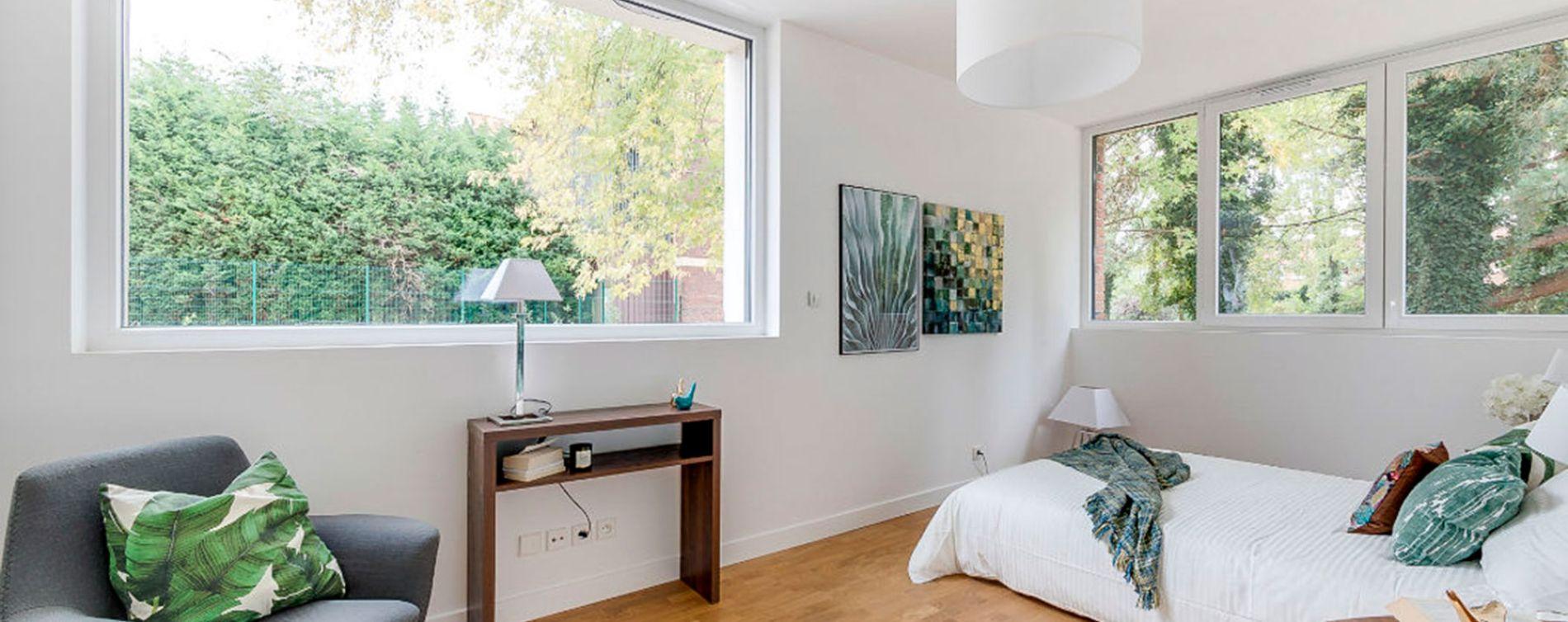 Saint-André-lez-Lille : programme immobilier neuve « Le Domaine d'Hestia - Villa Rhéa » en Loi Pinel (5)