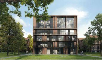 Saint-André-lez-Lille : programme immobilier neuf « Le Domaine d'Hestia - Villa Rhéa » en Loi Pinel