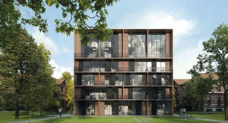 Saint-André-lez-Lille programme immobilier neuf « Le Domaine d'Hestia - Villa Rhéa