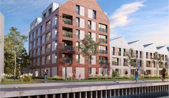 Photo du Résidence « Quai des Mariniers » programme immobilier neuf en Loi Pinel à Saint-André-lez-Lille