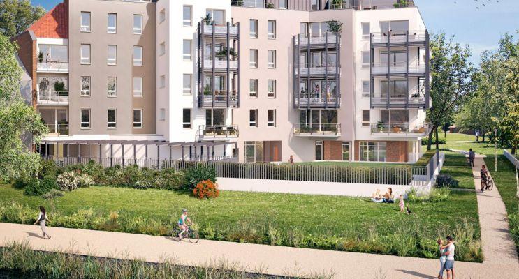 Photo du Résidence « Riverside » programme immobilier neuf en Loi Pinel à Saint-André-lez-Lille