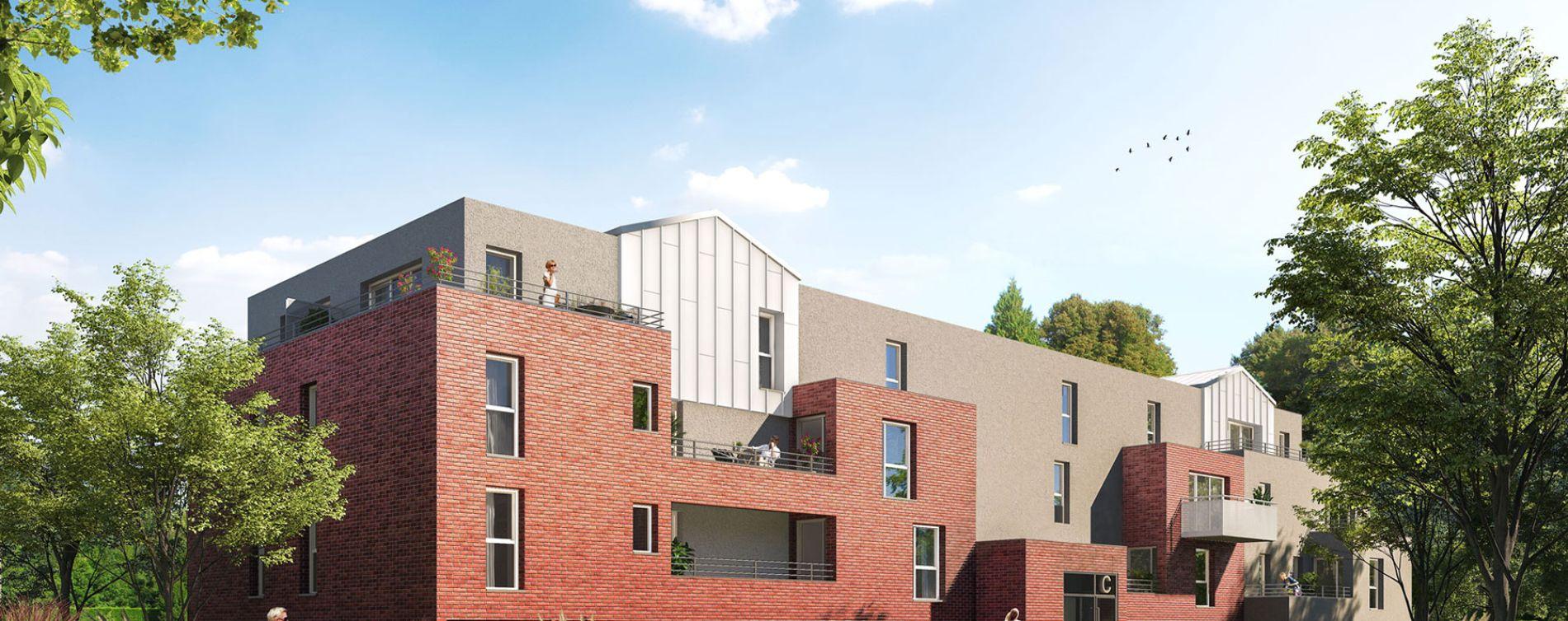 Seclin : programme immobilier neuve « Le Riez » en Loi Pinel