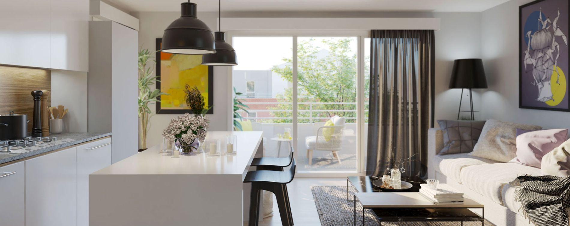 Seclin : programme immobilier neuve « Le Riez » en Loi Pinel (2)