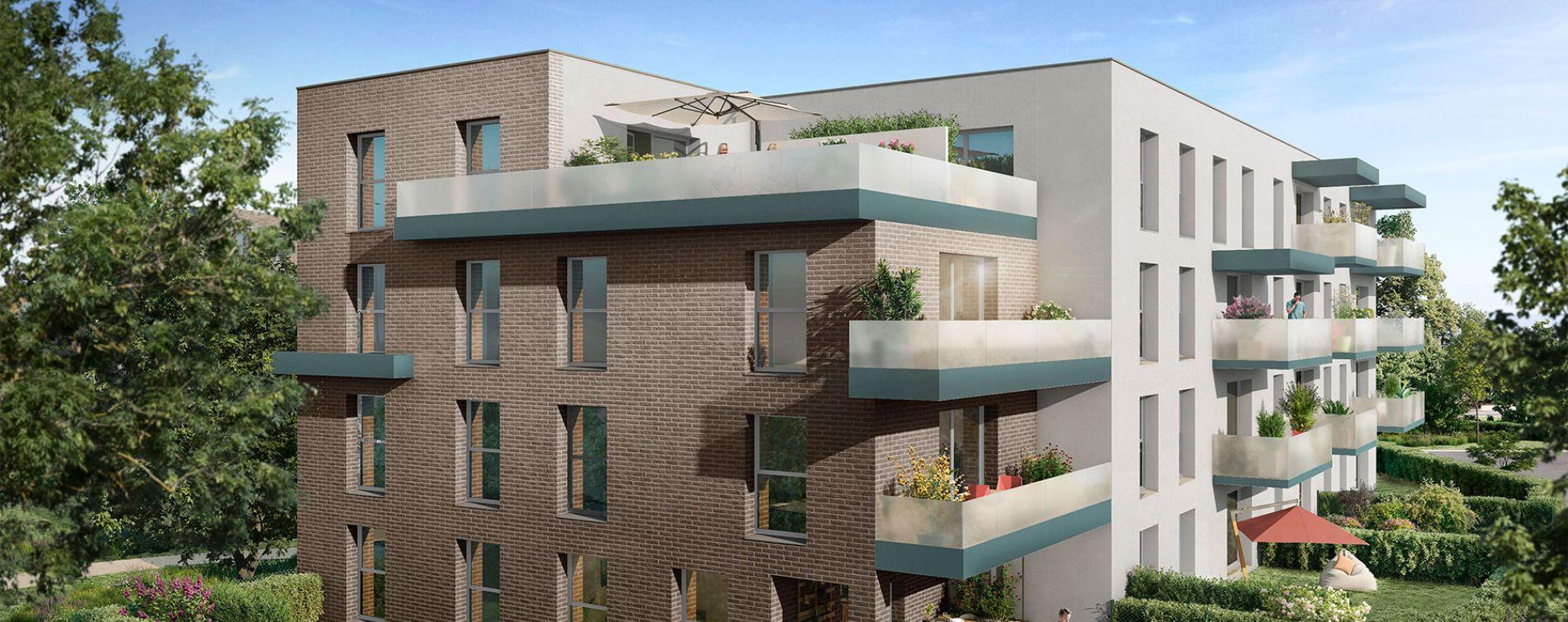 Seclin : programme immobilier neuve « Nouvel'R » en Loi Pinel (2)