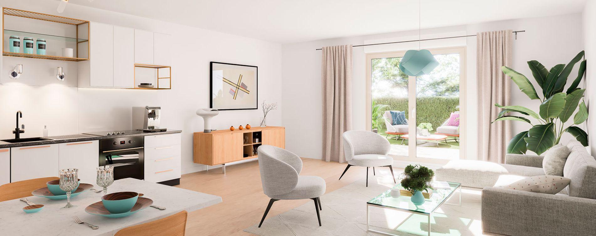 Seclin : programme immobilier neuve « Nouvel'R » en Loi Pinel (3)
