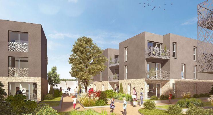 Templeuve : programme immobilier neuf « Les Terrasses de la Pévèle »