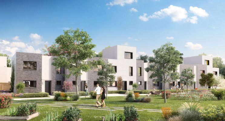 Tourcoing : programme immobilier neuf « Beau Séjour » en Loi Pinel