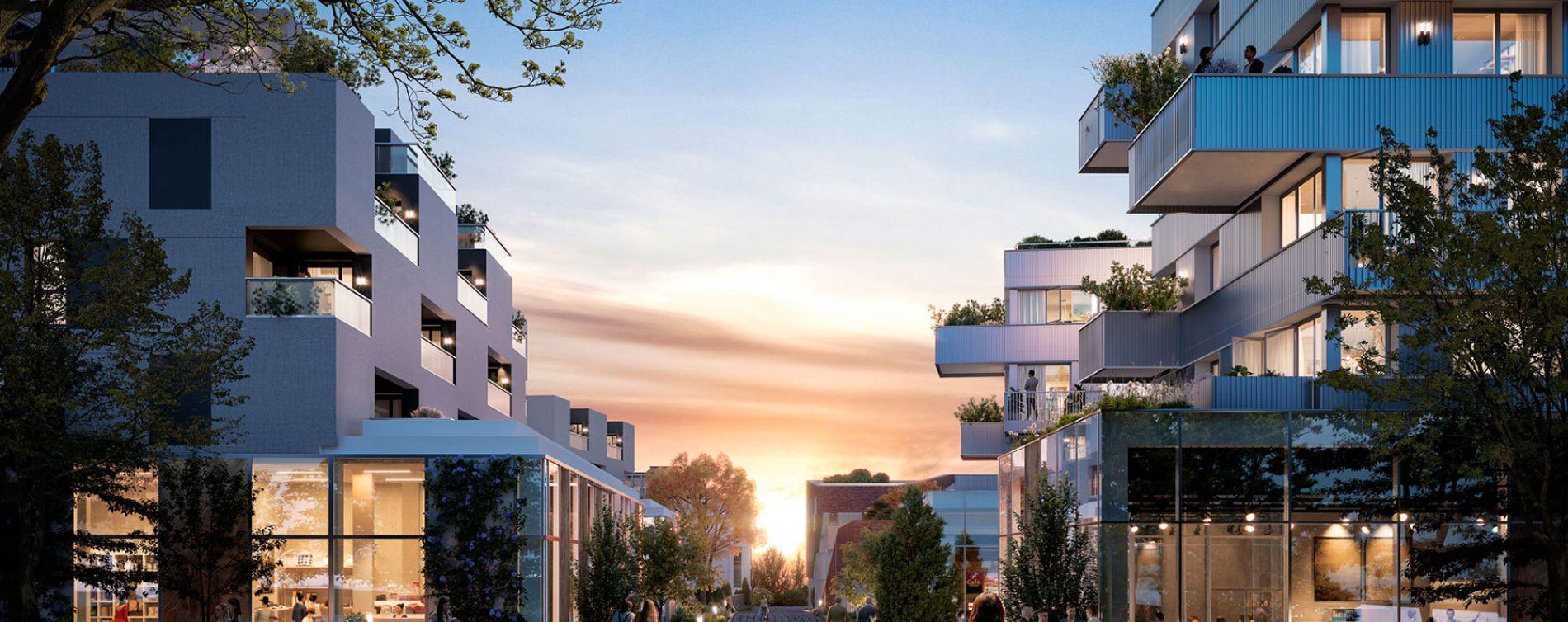 Tourcoing : programme immobilier neuve « Flow » en Loi Pinel
