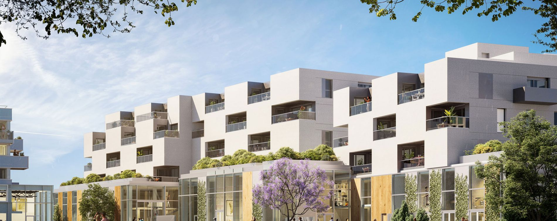 Tourcoing : programme immobilier neuve « Flow » en Loi Pinel (2)