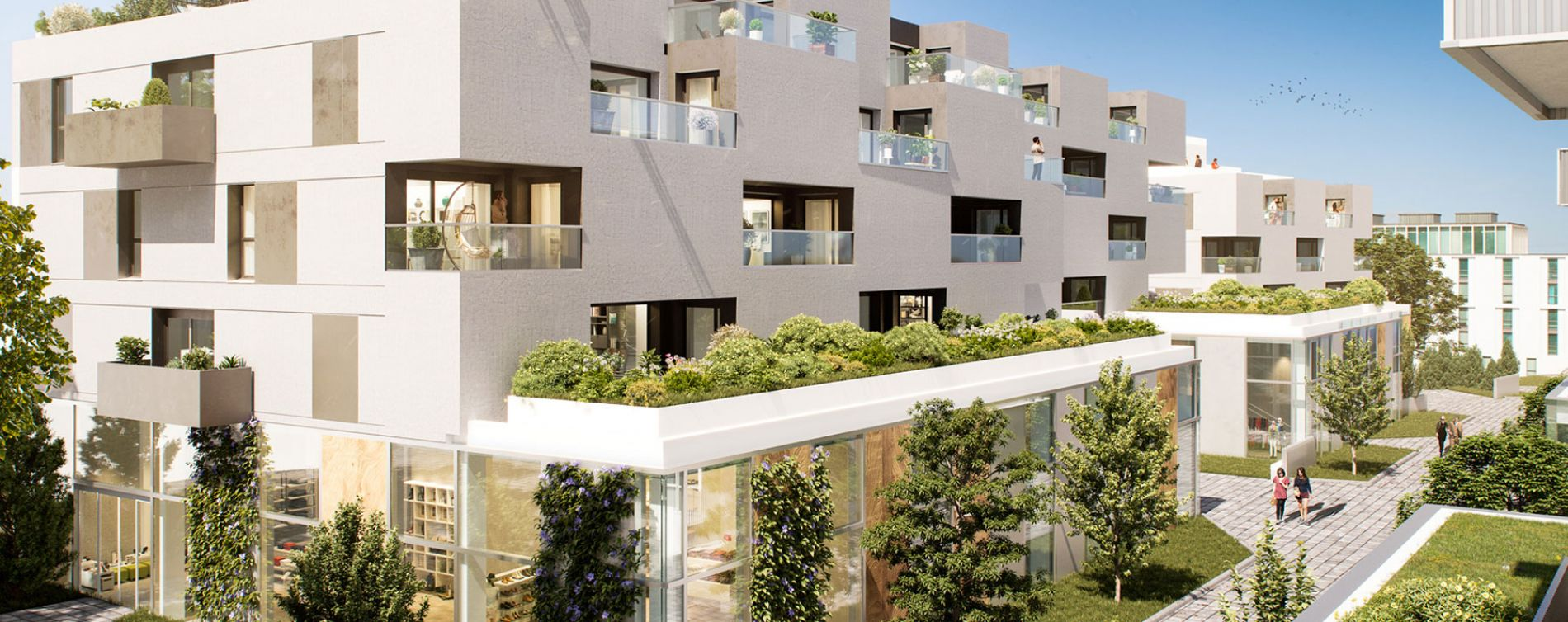 Tourcoing : programme immobilier neuve « Flow » en Loi Pinel (3)